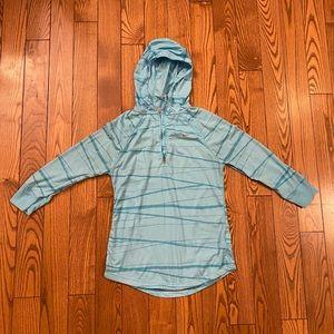 Nike quarter zip running shirt light material